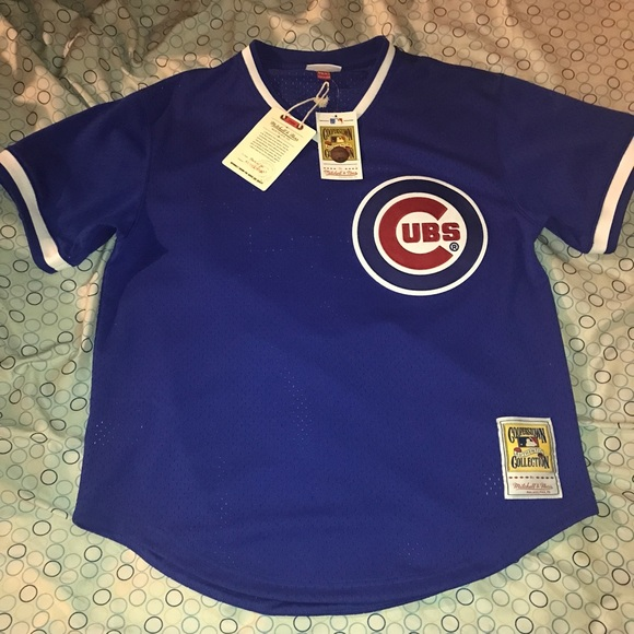 best sneakers a537c 8abdc Authentic Mitchell & Ness Chicago Cubs Jersey NWT